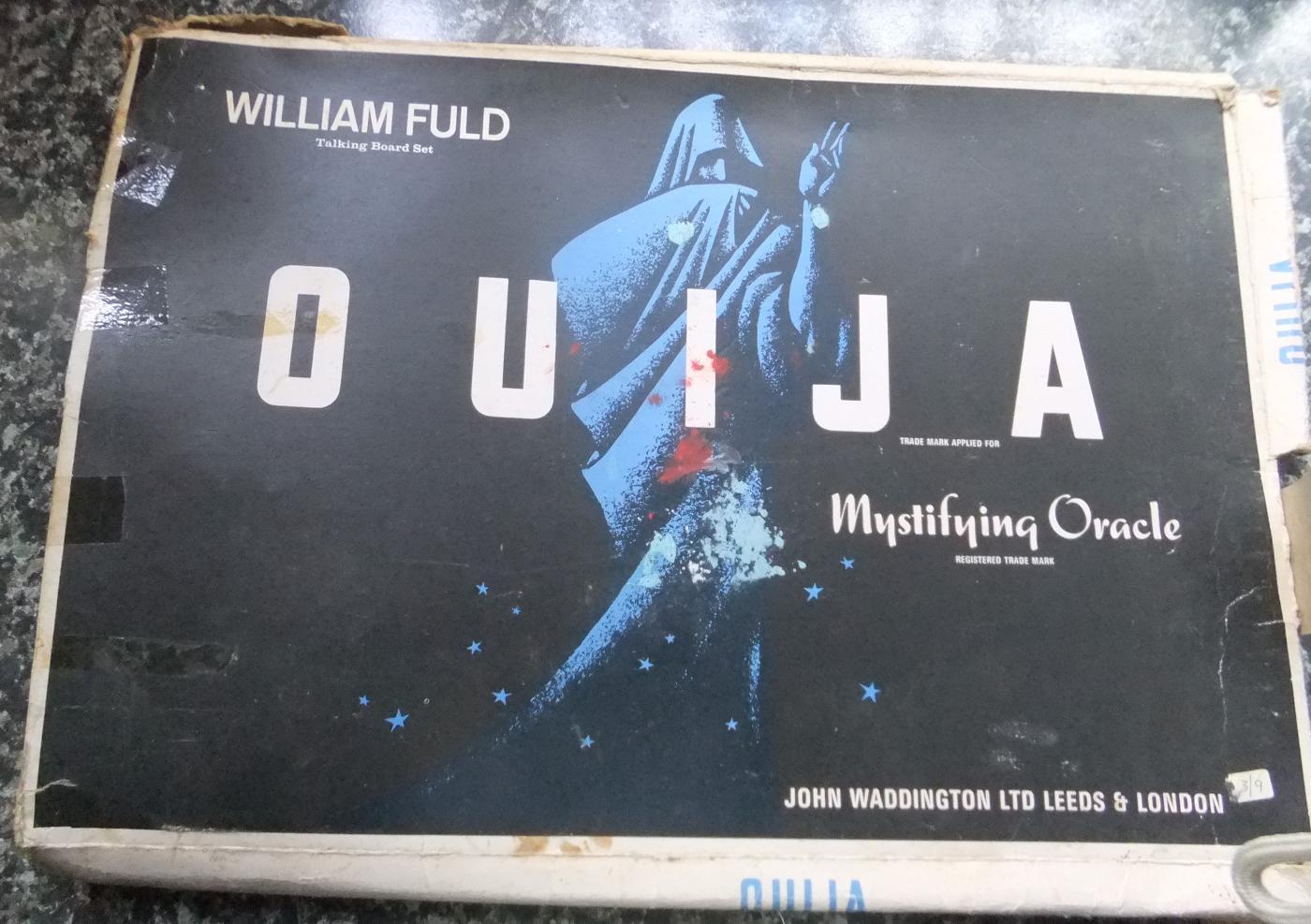 William Fuld Ouija / Talking Board Set
