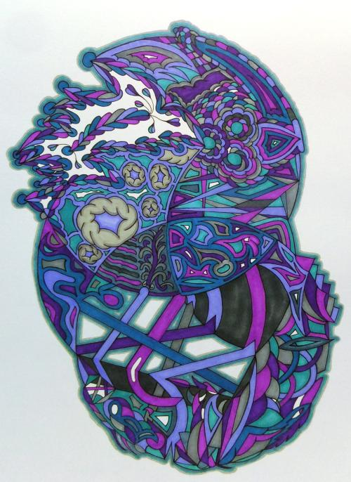 There Are Many Shapes - Crystal Riddle Artwork