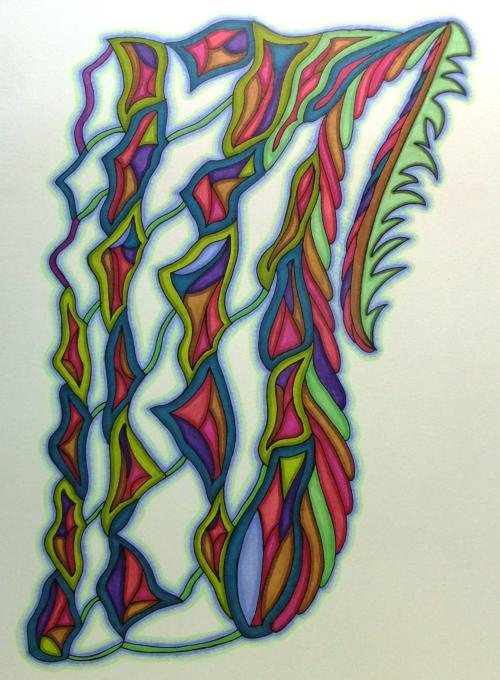 This One is Drawn - Crystal Riddle Artwork
