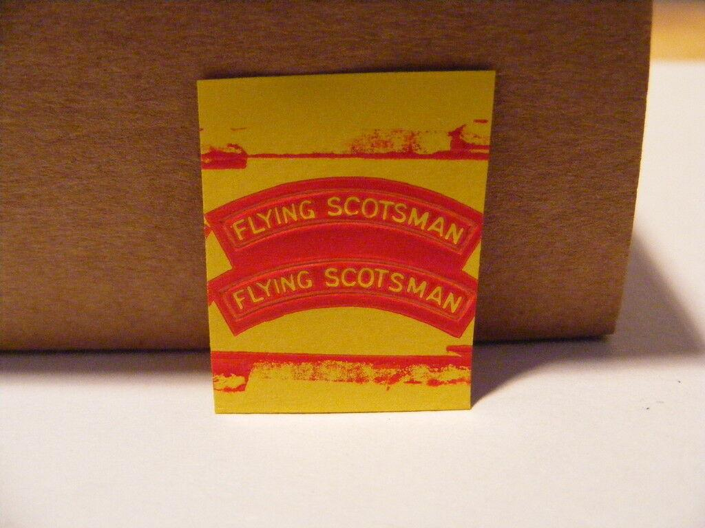 KC072 #  hornby triang parts scotsman name plate E6C