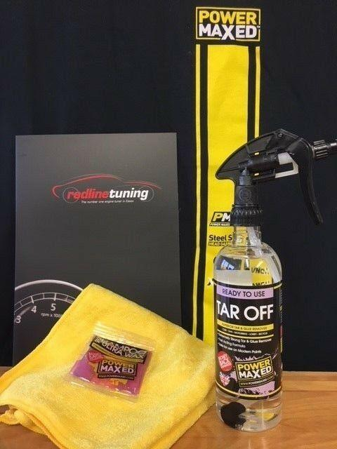 Power Maxed Tar Off 500ml + free cloth ,Shampoo, popular seller back in stock