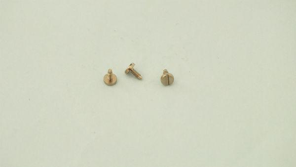 S1005 / X8138  #  3 x hornby triang spare screws conrods      T10A