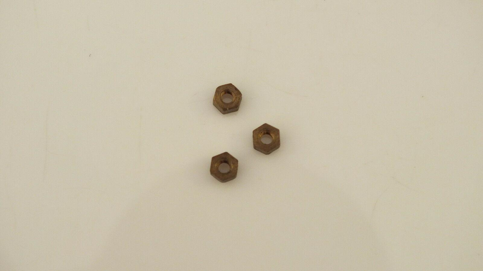 S1027  HORNBY TRIANG   3 X 10BA BRASS NUT TENSION OUT RT42 CONTOLLER         L1C