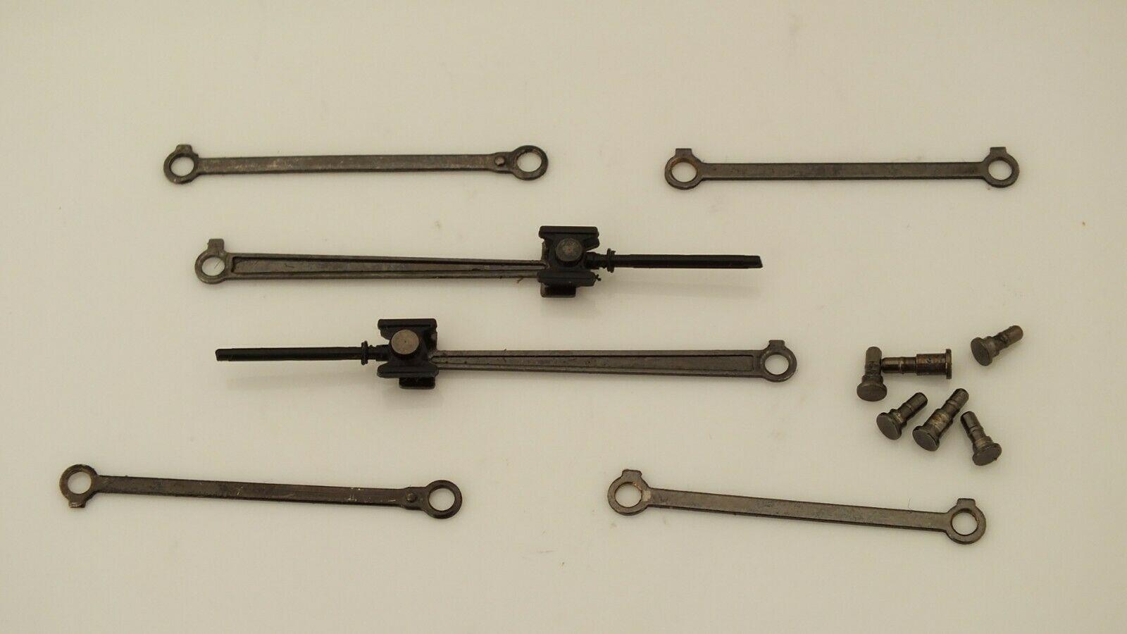 X8757 # HORNBY TRIANG  COMPLETE SET VALVE GEARS & CONRODS  CASTLE CLASS   J5B