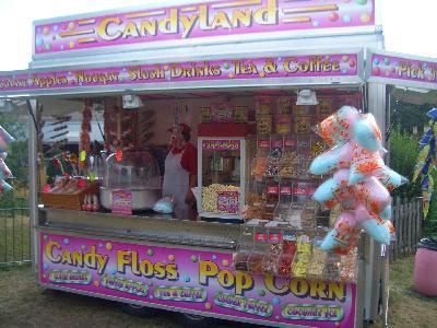 candy floss popcorn machine supplies