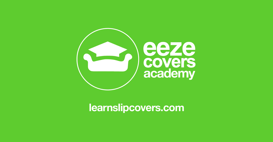 Eeze Covers Academy loose cover online course training website Have you always wanted to learn to make loose covers slipcovers? well, now you can just follow my easy to follow step by step tutorials. I am building the largest loose cover tutorial website on the internet.
