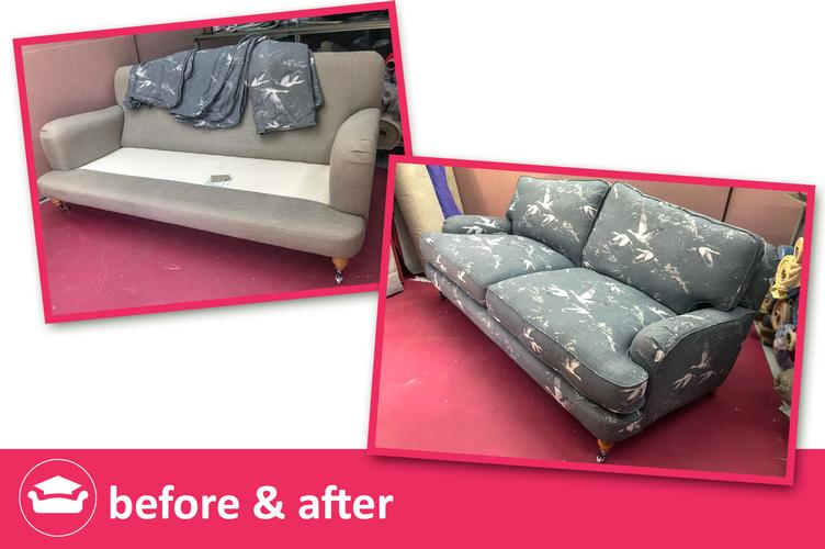 Replacement Loose covers for a Sofa Workshop sofa Replacement loose covers for Sofa Workshop furniture at affordable prices. Contact Eeze Covers today! FREE FABRIC SAMPLES
