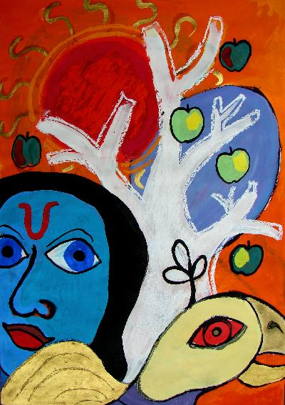 Garuda (India Series)OTHER WORLD JOURNEYS: IMELDA ALMQVIST ART