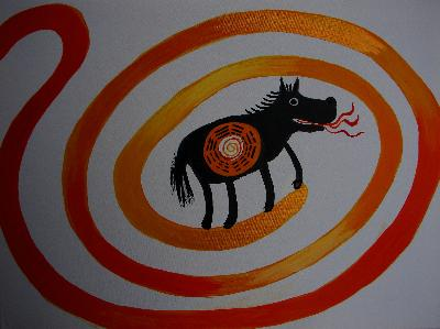 YELLOW RIVER HORSE
